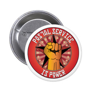 Postal Service Is Power Pinback Buttons