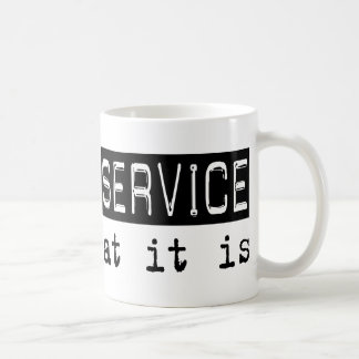 Postal Service It Is Coffee Mug