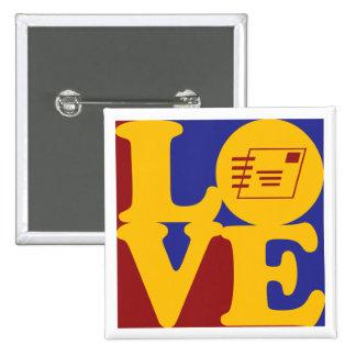 Postal Service Love Pinback Button
