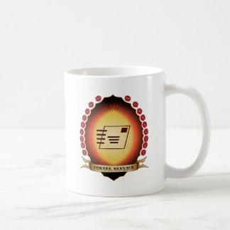 Postal Service Mandorla Coffee Mugs