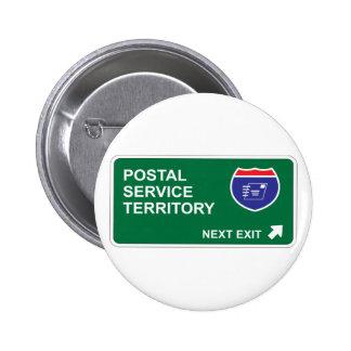 Postal Service Next Exit Pin