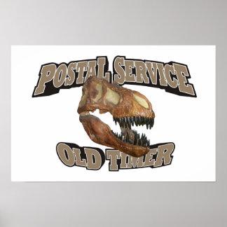 Postal Service Old Timer Print