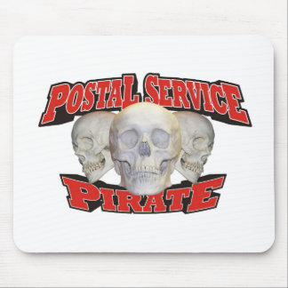 Postal Service Pirate Mouse Pad
