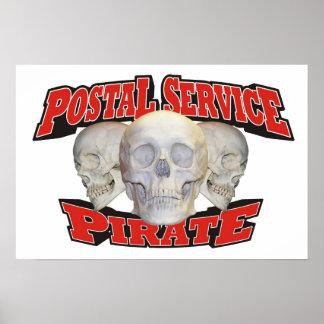 Postal Service Pirate Print
