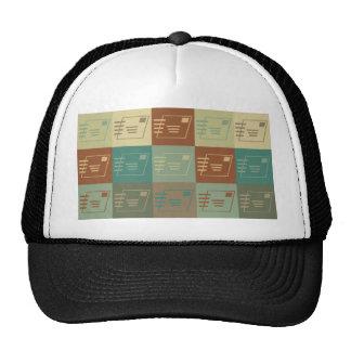 Postal Service Pop Art Mesh Hat