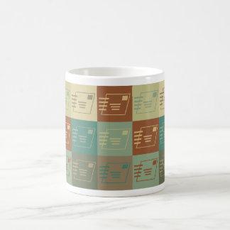 Postal Service Pop Art Coffee Mugs
