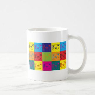 Postal Service Pop Art Mugs
