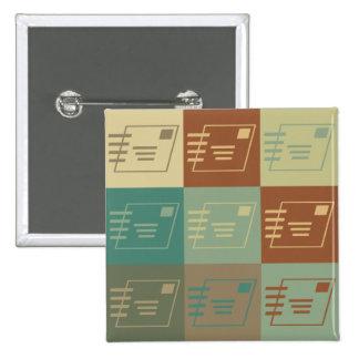 Postal Service Pop Art Pins
