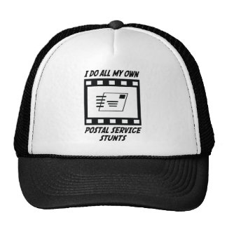 Postal Service Stunts Trucker Hats