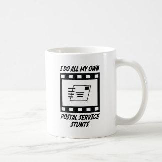 Postal Service Stunts Coffee Mugs