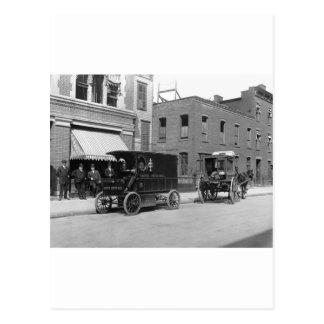 Postal Service Technology Upgrade: early 1900s Postcard
