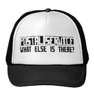 Postal Service What Else Is There? Hats