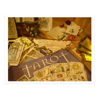 Postal tarot postcard