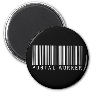 Postal Worker Bar Code Magnets