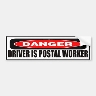 Postal Worker Bumper Sticker