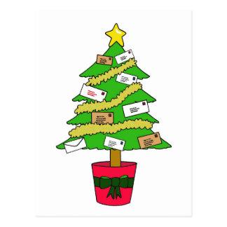 Postal Worker Happy Christmas Postcard