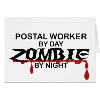Postal Worker  Zombie Cards
