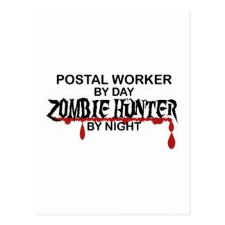 Postal Worker Zombie Hunter Postcard