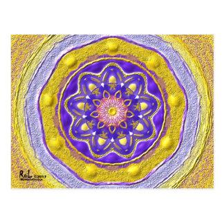"""Postcard 09 """"Flowerqueen """""""