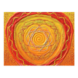 "Postcard 27 ""golden spiral """