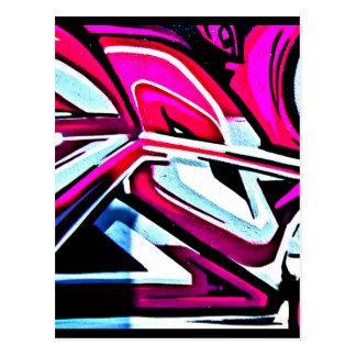 Postcard-Abstract/Misc-Graffiti Gallery 110 Postcard