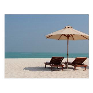 Postcard - Abu Dhabi - Dubai - beach