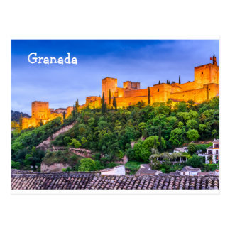 Postcard Alhambra from Granada