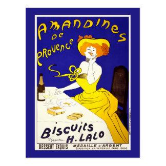 "Postcard: ""Amandines de Provence"" by Cappiello"