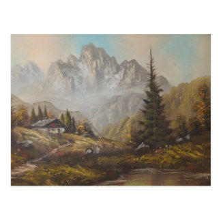 Postcard Ann Hayes Painting Bavarian Dream