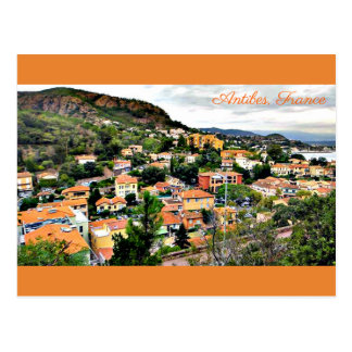 Postcard Antibes, France
