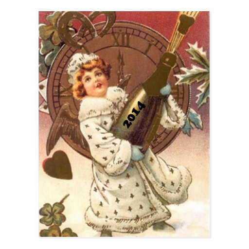 Postcard Antique PC ReIntroduced for New Year 2014