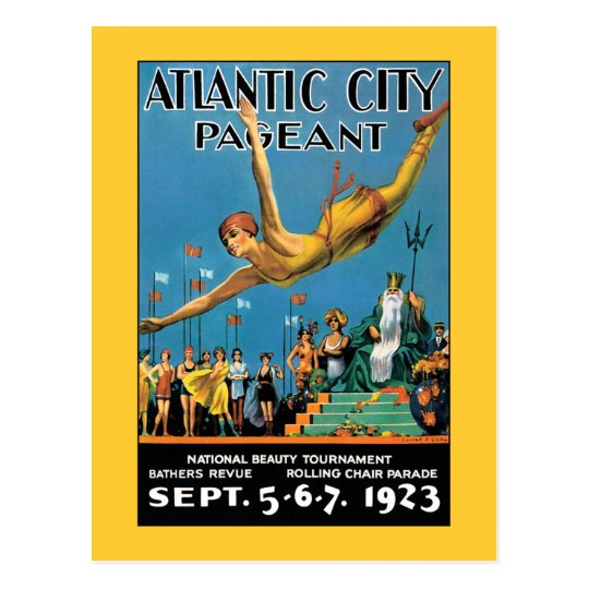 Postcard: Atlantic City Beauty Pageant Postcard