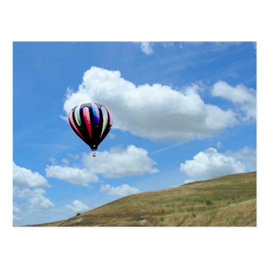 Postcard - Ballooning