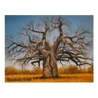 Postcard Baobab Tree