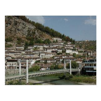 Postcard Berat bridge, Albania