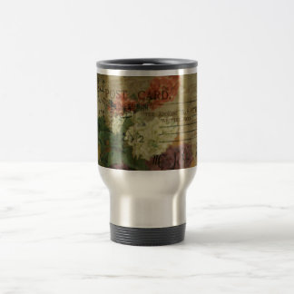 Postcard Blooms Coffee Mug