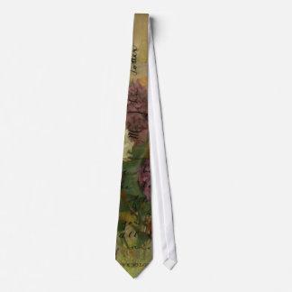 Postcard Blooms Tie