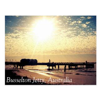 Postcard Busselton Australia