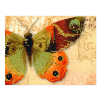 """Postcard   """"Butterfly"""""""