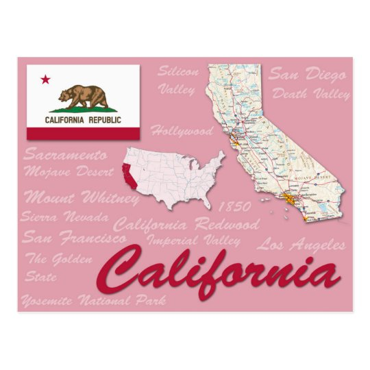 "Postcard ""California"""