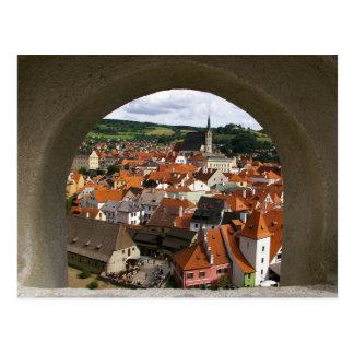 Postcard Cesky Krumlov, Czech Republic