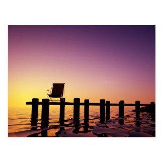 Postcard chair on bar