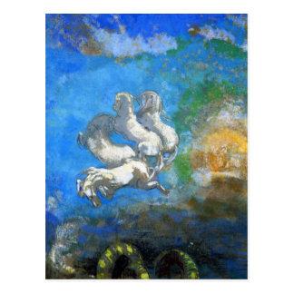 Postcard: Chariot of Apollo by Odilon Redon Postcard