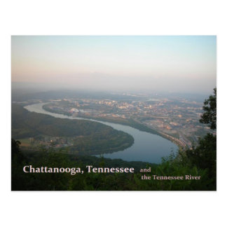 Postcard - Chattanooga TN & the Tennessee River