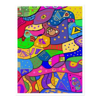 "Postcard ""Child Playground """
