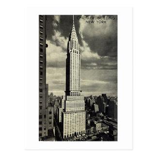 Postcard Chrysler Building New York City Post Card