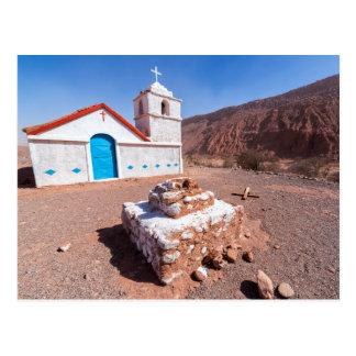 Postcard, Church San Isidro, Atacama, Chile Postcard