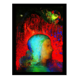 Postcard-Classic Art-Redon 14 Postcard