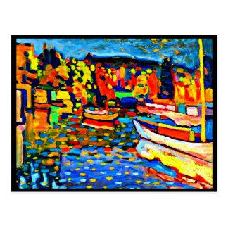 Postcard-Classic/Vintage-Wassily Kandinsky 13 Postcard