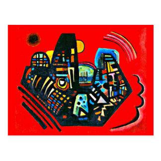 Postcard-Classic/Vintage-Wassily Kandinsky 19 Postcard